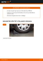 bak och fram Hjullager MERCEDES-BENZ SPRINTER | PDF instruktioner för utbyte