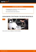 Bremser erstatning og reperasjonshåndbøker met illustraties