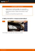 Jak vyměnit přední brzdové destičky kotoučové brzdy na VOLKSWAGEN GOLF V (1K)