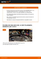 Wie der Austausch der hinteren Bremsscheiben bei einem VOLKSWAGEN GOLF V funktioniert