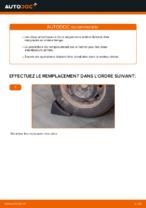 Comment remplacer les amortisseurs de suspension arrière sur une Citroen C3 1