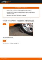 Hvordan man udskifter hjulleje i for på Volkswagen Golf IV (1J)