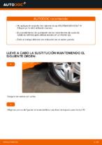 Cómo cambiar el rodamiento de cubo de la rueda delantera en Volkswagen Golf IV (1J)