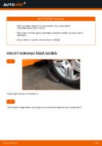 Kā nomainīt priekšējā riteņa rumbas gultni automašīnai Volkswagen Golf IV (1J)