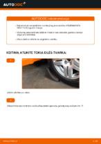 Kaip pakeisti priekinio rato stebulės guolį Volkswagen Golf IV (1J)