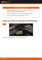 Avtomehanična priporočil za zamenjavo VOLVO Volvo v50 mw 1.6 D Blazilnik