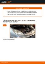 CITROËN Luftfiltereinsatz Auto Ersatz wechseln - Online-Handbuch PDF