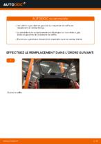 Changer Ressort pneumatique de coffre CITROËN à domicile - manuel pdf en ligne