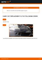 Multi v belt changing on CITROËN XSARA: online tutorial