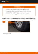 Wymiana Drążek wspornik stabilizator: pdf instrukcje do CITROËN XSARA