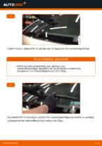 Πώς αντικαθιστούμε πισινά μάκτρα υαλοκαθαριστήρων σε Citroen Xsara Picasso
