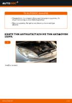 Εγχειρίδιο PDF στη συντήρηση XSARA