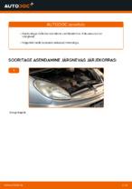 CITROËN XSARA diisel Kütusefilter vahetamine: juhend online
