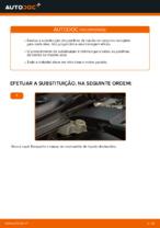 Manual online sobre a substituição de Tambor de freio em VOLVO V50 (MW)