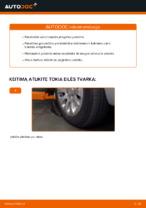 Nemokamos internetinės instrukcijos kaip atnaujinti Skersinės vairo trauklės galas CITROËN XSARA PICASSO (N68)