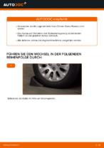 CITROËN XSARA PICASSO (N68) Bremsbelagsatz Scheibenbremse ersetzen: Anweisungen und Tipps