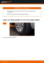Changing Brake Pads CITROËN XSARA: workshop manual