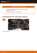 Så byter du bränslefilter på VOLKSWAGEN PASSAT B5 (3BG, 3B6)