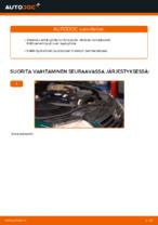 Kuinka vaihtaa polttoainesuodatin VOLKSWAGEN PASSAT B5 (3BG, 3B6) malliin