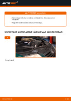 Kuidas vahetada kütusefiltrit autol VOLKSWAGEN PASSAT B5 (3BG, 3B6)