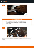 Wie Sie die hinteren Wischerblätter am VW Touran 1T1 1T2 ersetzen