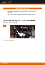 Wie Sie den Kraftstofffilter am VW Touran 1T1 1T2 ersetzen