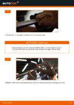 Hoe Ruitenwisserbladen vervangen en installeren VW TOURAN: pdf tutorial