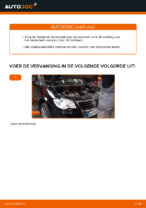 Stap-voor-stap reparatiehandleiding VW Touran 5t