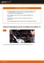 Remschijven achter en vóór veranderen VW TOURAN: online gids