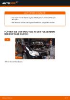 Hinweise des Automechanikers zum Wechseln von VW Touran 1t1 1t2 2.0 TDI 16V Keilrippenriemen