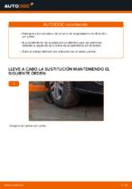 Cómo sustituir los extremos de la barra de acoplamiento de dirección en VW Touran 1T1 1T2