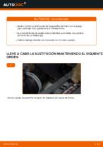 Cómo sustituir las pastillas de freno de discos trasero en VW Touran 1T1 1T2