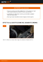 Cambiare Pastiglie Freno VW TOURAN: manuale tecnico d'officina