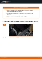 Online manual on changing Auxiliary Stop Light yourself on VW TOURAN (1T1, 1T2)