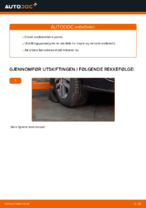 Hvordan erstatte endeledd på VW Touran 1T1 1T2