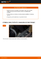 Montáž Brzdové doštičky VW TOURAN (1T1, 1T2) - krok za krokom príručky