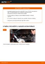 Vyměnit Brzdovy kotouc VW TOURAN: dílenská příručka