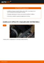 Kako zamenjati in prilagoditi Zavorne Ploščice VW TOURAN: vodnik pdf