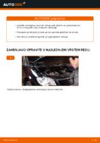 Zamenjavo Zavorne Ploščice VW TOURAN: brezplačen pdf