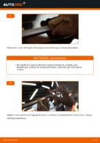 Como mudar e ajustar Escovas do limpa parabrisas VW TOURAN: tutorial pdf