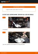 Kuidas asendada VW Touran 1T1 1T2 mootori V-hammasrihma