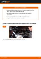 Kuidas asendada VW Touran 1T1 1T2 esimesi pidurikettaid