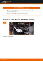 Online ingyenes kézikönyv - Légszűrő VW TOURAN (1T1, 1T2) csere