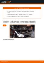 Cseréljünk Olajszűrő VW TOURAN: felhasználói kézikönyv