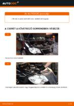 Hogyan cseréljünk Távfényszóró izzó VW TOURAN (1T1, 1T2) - kézikönyv online
