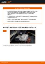 CITROËN XSARA PICASSO (N68) Felfüggesztés cseréje: kézikönyv pdf
