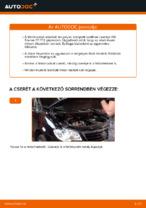 Online kézikönyv – saját kezű VW TOURAN (1T1, 1T2) Csapágy Tengelytest csere
