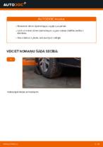 Kā nomainīt VW Touran 1T1 1T2 stūres šķērsstiepņa uzgali