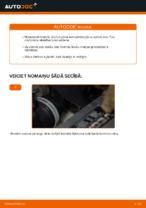 Kā nomainīt bremžu klučus aizmugurējām disku bremzēm VW Touran 1T1 1T2