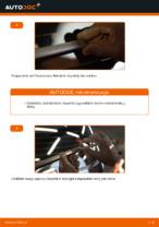 Montavimo Stiklo valytuvai VW TOURAN (1T1, 1T2) - žingsnis po žingsnio instrukcijos